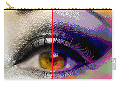 Eye Transformed Carry-all Pouch by Mary Armstrong