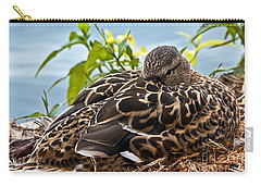 Carry-all Pouch featuring the photograph Eye Watching You by Kate Brown