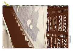 Eyes At The Top Of The Stairs Carry-all Pouch
