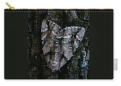 Eyes Of The Night Carry-all Pouch by William Tanneberger