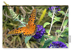 Eyes On A Butterfly Carry-all Pouch