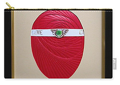 Carry-all Pouch featuring the mixed media Faberge Egg 1 by Ron Davidson
