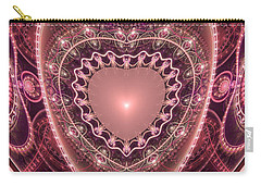 Faberge Heart Carry-all Pouch