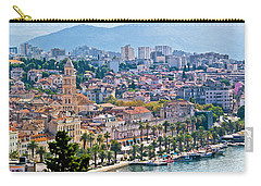 Fabulous Split Waterfront Aerial Panorama Carry-all Pouch