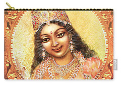 Face Of The Goddess - Lalitha Devi  Carry-all Pouch