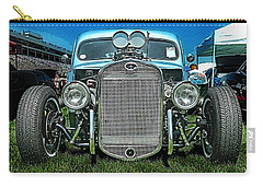 Face Of The Rat Rod Carry-all Pouch by Victor Montgomery