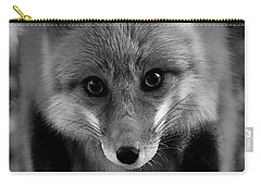 Carry-all Pouch featuring the photograph Face To Face by Adam Olsen