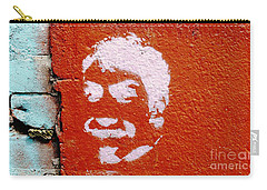 Face Without A Name Carry-all Pouch by Ethna Gillespie
