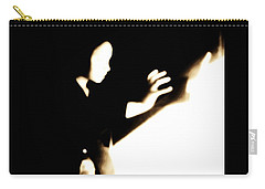Carry-all Pouch featuring the photograph Faceless Magician  by Jessica Shelton