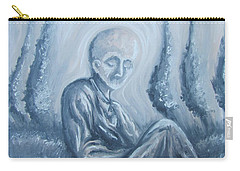 Carry-all Pouch featuring the painting Fade Away by Michael  TMAD Finney