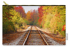 Fading Tracks Carry-all Pouch by Mary Carol Story