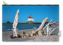 Carry-all Pouch featuring the photograph Fairport Harbor Lighthouse 2 by Michelle Joseph-Long