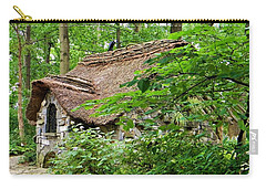 Fairy Cottage Carry-all Pouch by Jean Goodwin Brooks