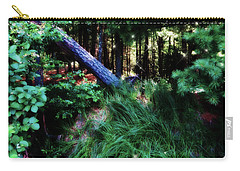 Carry-all Pouch featuring the photograph Fairy Forest by Jamie Lynn
