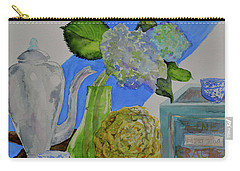 Carry-all Pouch featuring the painting Fairy Soda Fine Crackers by Beverley Harper Tinsley