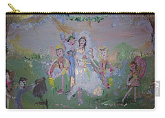 Fairy Wedding Carry-all Pouch by Judith Desrosiers