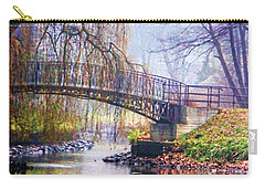 Fairytale Bridge Carry-all Pouch by Mariola Bitner