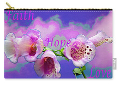 Faith-hope-love Carry-all Pouch