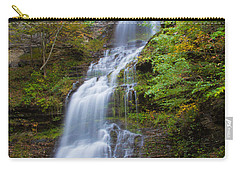 Fall At Cathedral Falls Carry-all Pouch