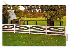Carry-all Pouch featuring the photograph Fall At Eisenhower Farm by Amazing Photographs AKA Christian Wilson