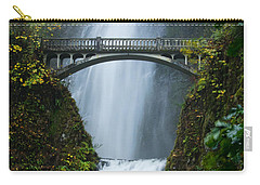 Fall At Multnomah Falls Carry-all Pouch by Don Schwartz