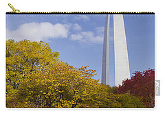 Fall At The St Louis Arch Carry-all Pouch