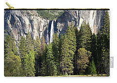 Yosemite National Park-sentinel Rock Carry-all Pouch by David Millenheft