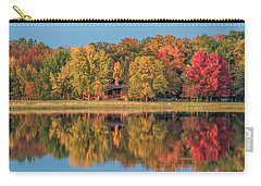 Fall Colors In Cabin Country Carry-all Pouch by Paul Freidlund