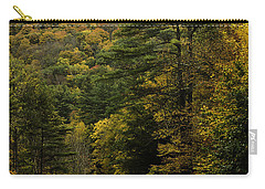 Fall Colors On Mohawk Trail Near Charlemont Carry-all Pouch