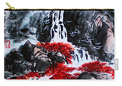 Carry-all Pouch featuring the photograph Fall Colors by Yufeng Wang