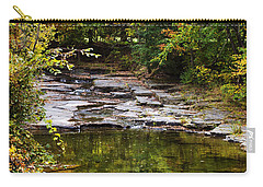 Fall Creek Carry-all Pouch by Christina Rollo