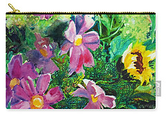 Fall Floral Sweetness Carry-all Pouch