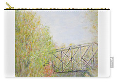 Fall Foliage And Bridge In Nh Carry-all Pouch