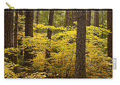 Carry-all Pouch featuring the photograph Fall Foliage by Belinda Greb
