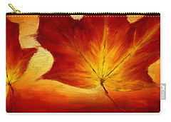Fall Foliage Carry-all Pouch by Lourry Legarde