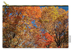 Carry-all Pouch featuring the photograph Fall Foliage by Patrick Shupert