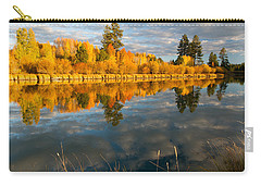 Carry-all Pouch featuring the photograph Fall Fractal by Kevin Desrosiers