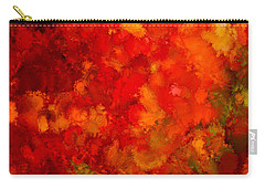 Fall Frolic Carry-all Pouch by Lourry Legarde