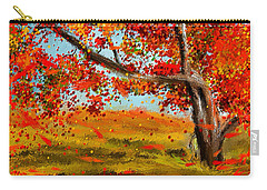 Fall Impressions Carry-all Pouch by Lourry Legarde