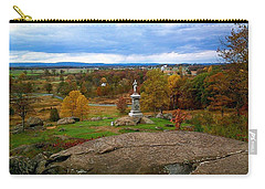 Carry-all Pouch featuring the photograph Fall In Gettysburg by Amazing Photographs AKA Christian Wilson