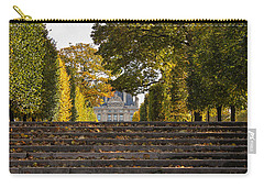 Carry-all Pouch featuring the photograph Fall In Paris by Glenn DiPaola
