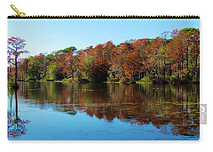 Fall In The Air Carry-all Pouch by Cynthia Guinn