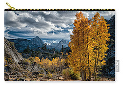Fall In The Eastern Sierra Carry-all Pouch by Cat Connor