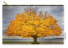 Fall Linden Carry-all Pouch