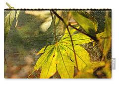 Carry-all Pouch featuring the photograph Fall by Liz  Alderdice