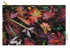 Carry-all Pouch featuring the photograph Fall Mix by Janice Westerberg
