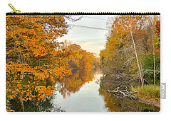 Fall On The Red Cedar  Carry-all Pouch by Lars Lentz