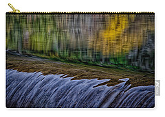 Fall Reflections At Tumwater Spillway Carry-all Pouch