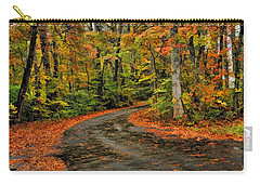 Fall Road To Glory Carry-all Pouch by Kenny Francis