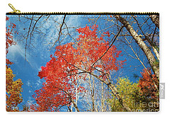 Fall Sky Carry-all Pouch